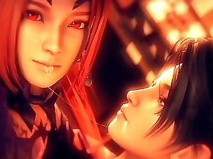 Kunoichi 2 Fall of the Shrinemaiden Trailer - 2..