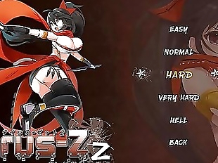 Sexy kunoichi adventure hentai game 6 min HD