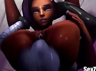 Sombra x Widowmaker 3D Monster - Full HD Video..