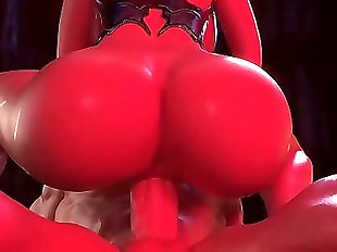 Princess Mary Riding Big Cock in 3d porn game 1..