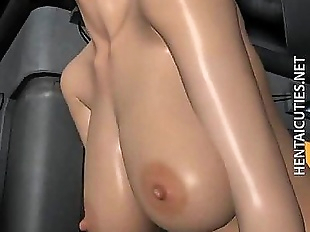 Hot chesty 3D hentai bitch fuck dick - 5 min