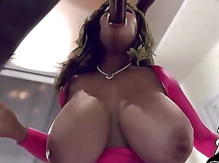 Thick Booty 3D FucK Compilation (Dukes 3rd..