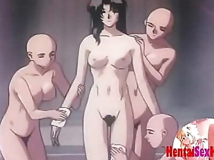 Hentai doctor gets fucked by many tentacles 9 min
